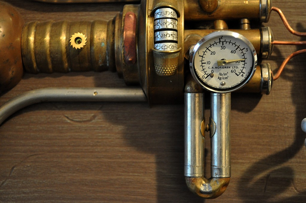neatpazintas steampunk darbai