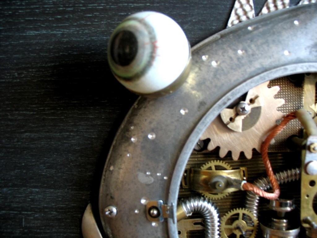 Turbo zuvis steampunk paveikslas arturas tamasauskas