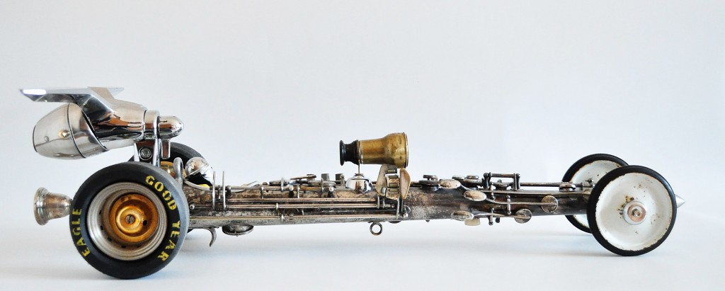 steampunk dragster