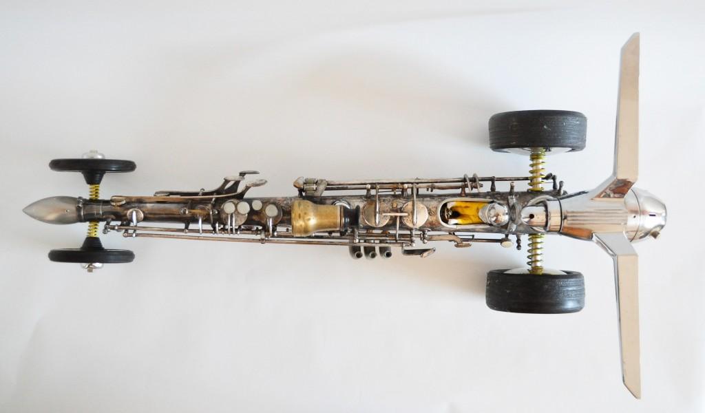 metal dragster
