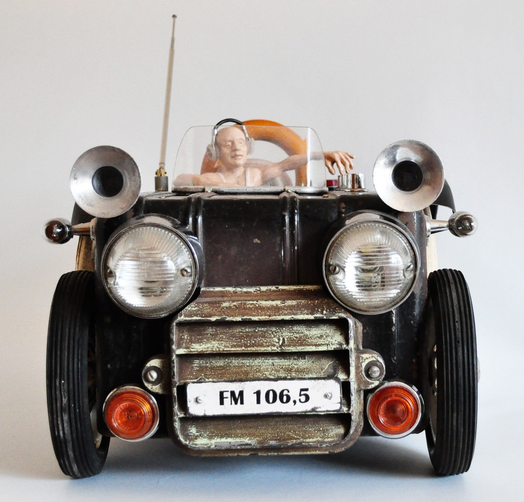 steampunk automobilis
