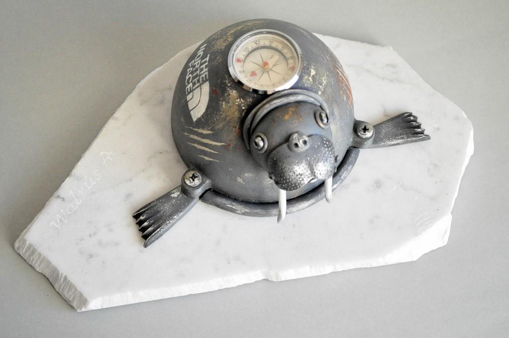 juru veplys skulptura steampunk artas