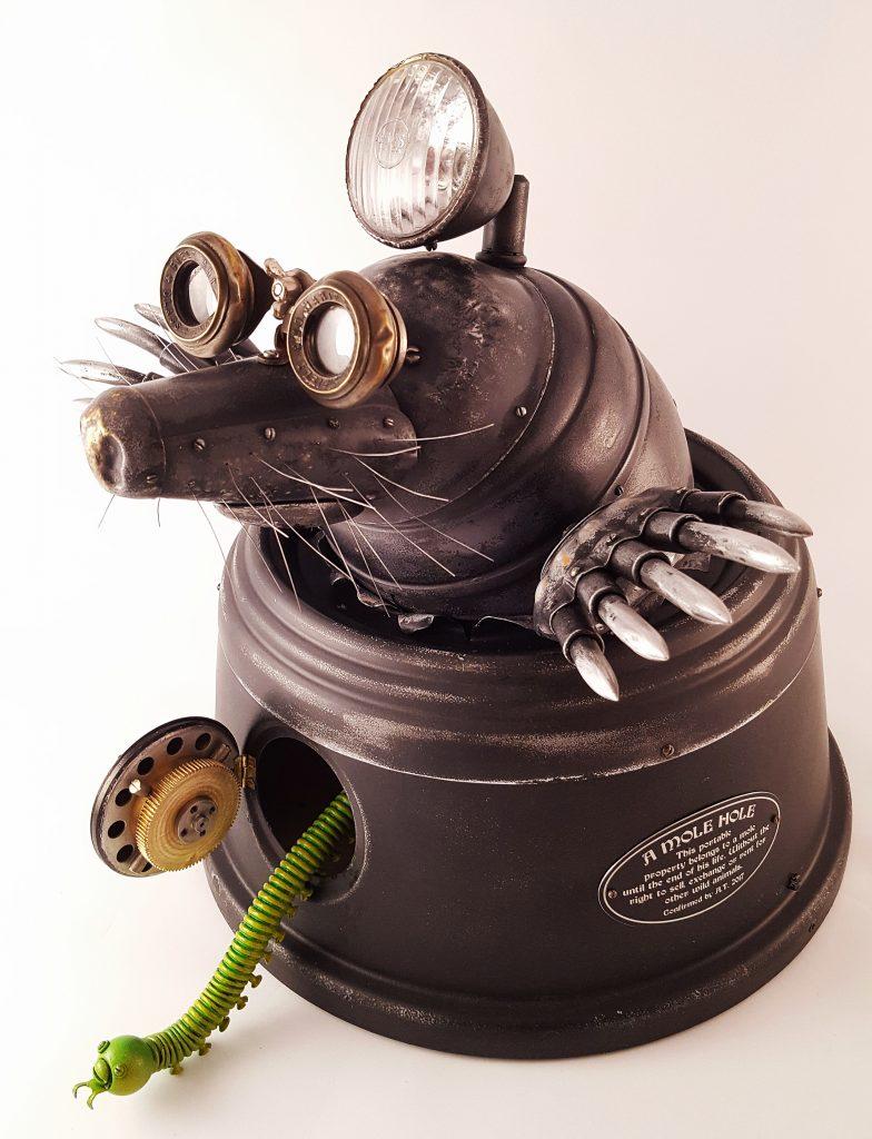 Mole Metal sculpture
