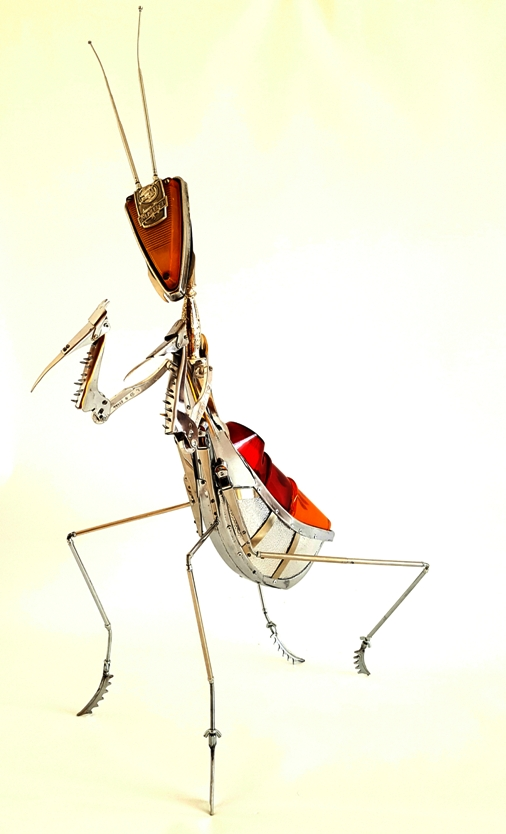 steampunk mantis