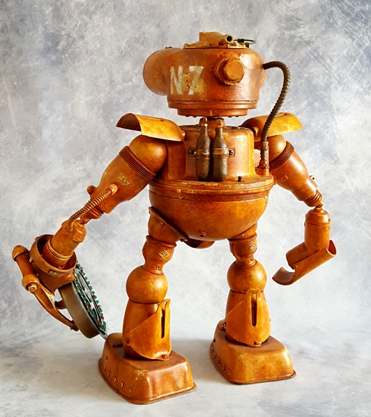 robot from trash